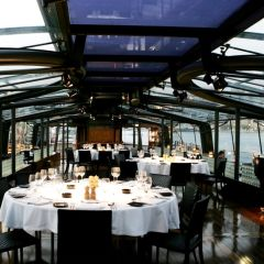 Bateaux Dubai:  Luxury Dinner Cruise with Optional Transport