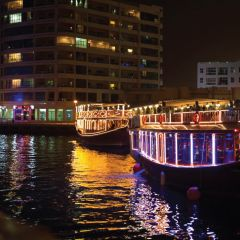 Dubai Marina Dhow Dinner Cruise with Hotel Transfers