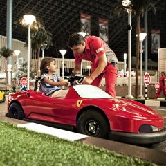 Ferrari World General Admission Ticket + QUICK PASS: Unlimited, Fast Track Entry to All Rides  with optional transfer from Dubai